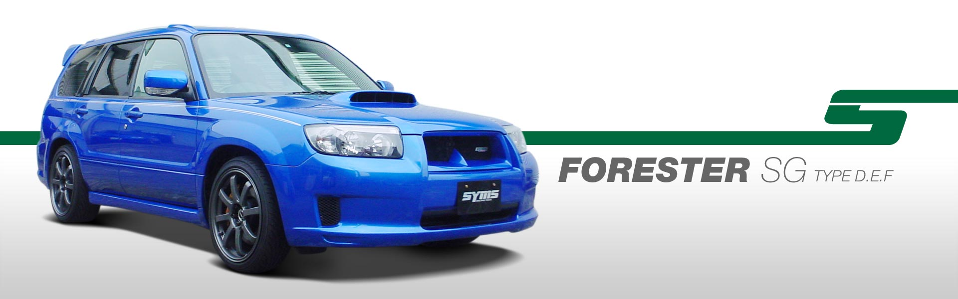 FORESTER - SG - TYPE D.E.F